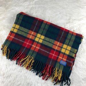 Pendleton wool fringe throw blanket
